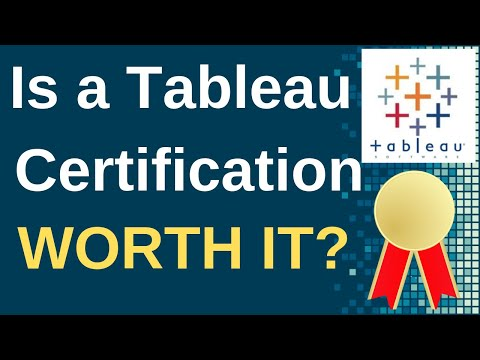 Is a Tableau Certification Worth It? - YouTube