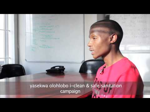 Video: Siwe's Journey: Sanitation in Khayelitsha...a film by Amazwi Wethu.
