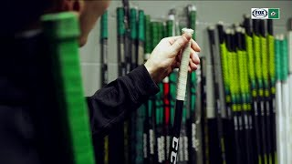 Dallas Stars Players Show How They Tape Their Stick Handles