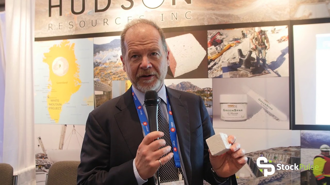 Hudson Resources Catalyst Clip with President Jamie Tuer at the 2018 PDAC in Toronto