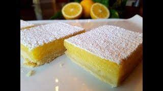 💖 How To Make The PERFECT Lemon 🍋 Bar From Scratch ( Homemade ) Recipe