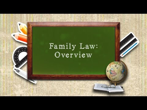 Family Law : Overview