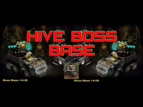 War Commander : Hive Boss Base 105 ( Elite Parts )