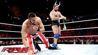 "Santino Marella & Los Matadores vs. ""The Union Jacks"": Raw, Nov. 11, 2013"