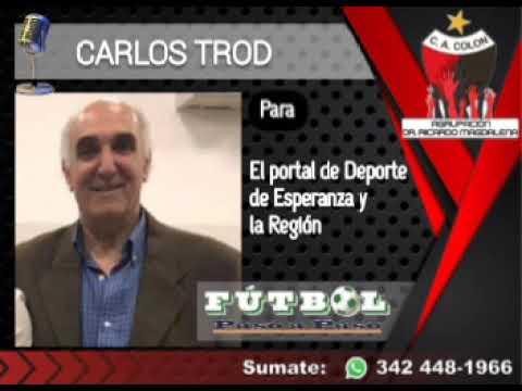 Carlos Trod de la agrupación Dr Ricardo Magdalena