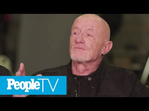 Jonathan Banks Cries And Reveals It's 'Painful' Reuniting With His 'Breaking Bad' Cast | PeopleTV