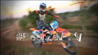 Motorcross vs Race Drone #BeerZa