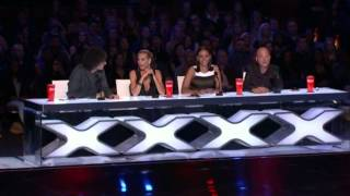 America's Got Talent 2015 Power Lifting Granny Auditions 5