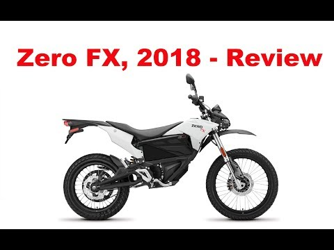 Zero FX – 2018 – Electric Motorcycle – Test Ride & Review