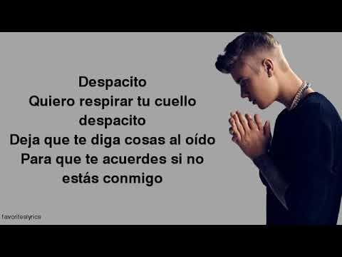 Justin Bieber   Despacito Lyrics ft  Luis Fonsi, Daddy Yankee PlanetLagu com