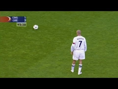 The Iconic Match After Which David Beckham Instantly Turned Into a National Hero