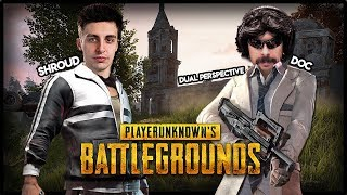 PUBG DUAL PERSPECTIVE - Shroud and Doc - 2 M24 are NO MATCH!