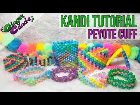 Download Beginner Kandi Cuff - [Kandi Tutorial] | @GingerCandE HD Mp4 3GP Video and MP3