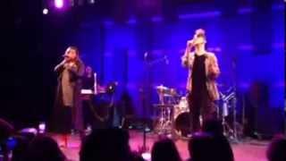 """Alone Together"" Daley ft. Marsha Ambrosius LIVE! 12/2/2013"