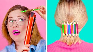 Awesome PENCIL Hacks and Tricks || Unusual But Cool Things You Can Make With Pencils