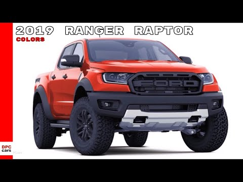 2019 ford ranger raptor colors dpccars video free. Black Bedroom Furniture Sets. Home Design Ideas