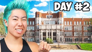 Last To Leave School Wins $10,000 | ZHC Crafts