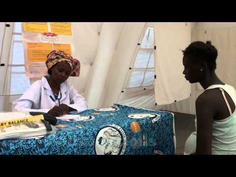 Les bonnes pratiques de l'UNFPA pour la santé de reproduction auprès des femmes déplacées de Centraf