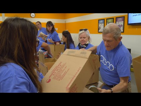 Cisco gives back this holiday season