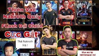 Thiên Cày Thuê Cùng ProE + Bug Đại Chiến Đồng Đội Box.PSMan Và FL•Gau   Nakroth Cứ Để Thiên Lo !