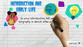 How to Write a Biography:  for kids!