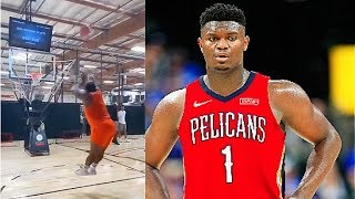 Zion Williamson 1st Pelicans Practice To Get Traded After Draft Lottery (Parody)