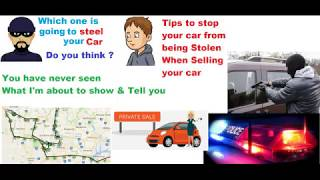 How to protect yourself when selling a car privately