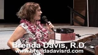 Brenda Davis, RD - Plant-based Diets