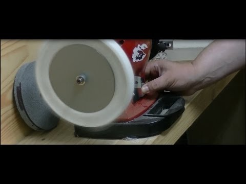Adaptando  disco  de tela  a la combinada .