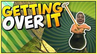 Thử thách kiên nhẫn Tật nguyền leo núi | Mixigaming Funny Stream (Getting Over It)