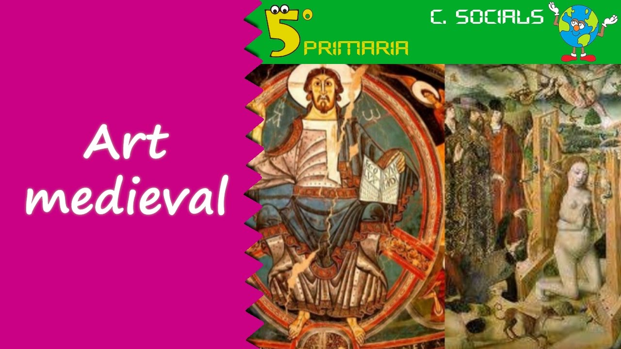 Art medieval a la Península Ibèrica. Socials, 5é Primaria. Tema 7