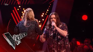 Chris James Vs Holly Ellison - 'I'd Do Anything For Love': The Battles | The Voice UK 2018