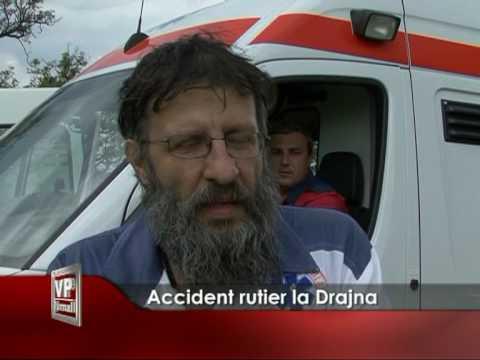 Accident rutier la Drajna