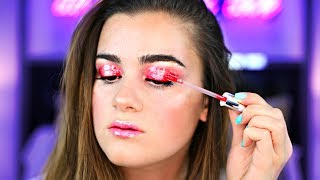 Full Face Using Only LIP GLOSS! Makeup Challenge