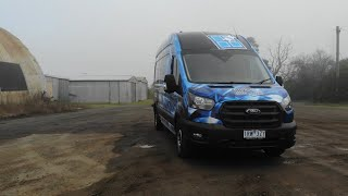 ford transit custom wrap