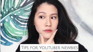 給新手youtuber的五個建議|Tips for Youtuber newbies //weartoeatiff