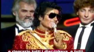MICHAEL JACKSON - AMERICAN MUSIC AWARD 1984