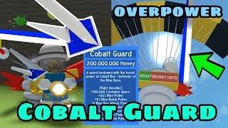 I Got Cobalt Guard! New Best Item! OP - Bee Swarm Simulator