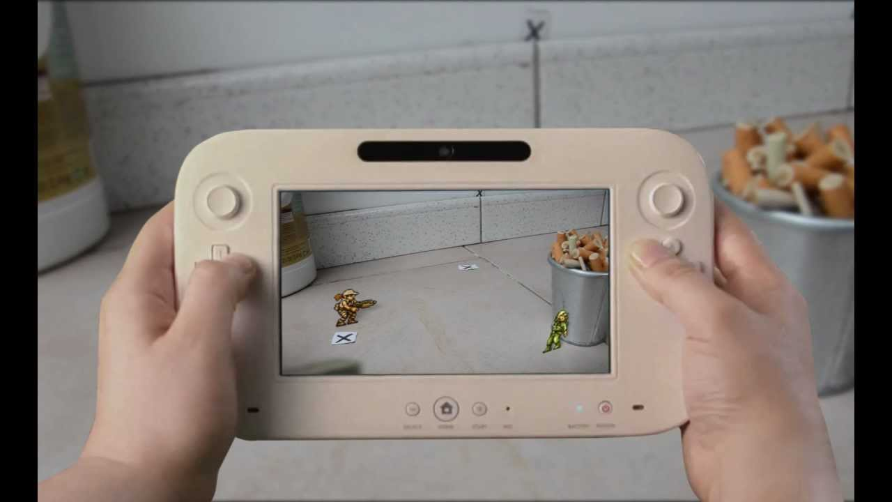 If Metal Slug On Wii U Featured Augmented Reality…