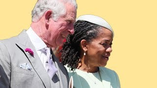Meghan Markle's mom became besties with Prince Charles at the Royal Wedding - Video Youtube