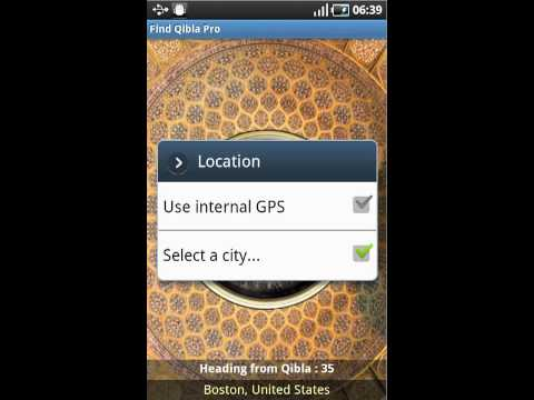 Video of Find Qibla Pro