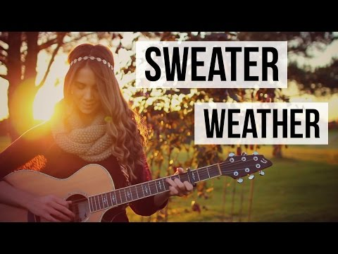 sweater weather - the neighbourhood // guitar tutorial CHORDS: Cm ...