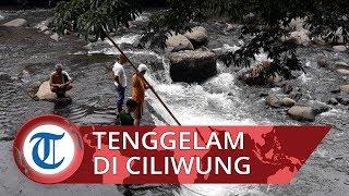 Bocah Tenggelam saat Berenang di Sungai Ciliwung Bogor, Petugas Masih Lakukan Pencarian