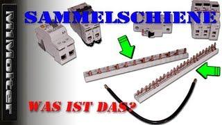 Sammelschiene / 3 Phasenschiene 10mm² für FI und LS - was ist das? Von M1Molter