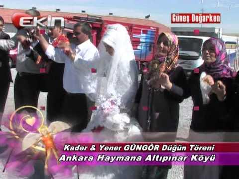 Ankara Haymana Altıpınar Köyü Düğün