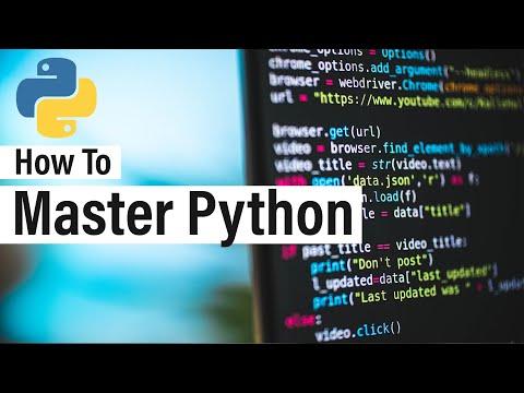 How To Master Python