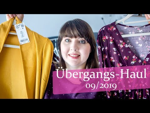 Übergang Herbst / Winter Fashion Haul 2019 Plussize Curvy orsay