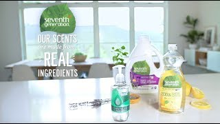 Seventh Generation Scents from Real Ingredients