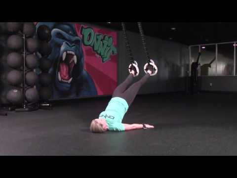 Hip Extension 45 Suspension Exercise