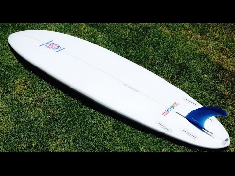 Retro Single Fin surfboard Hybrid Hypto Krypto rusty dwart CI Biscuit